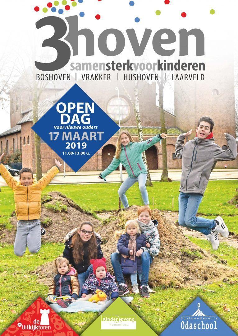 Open dag onderwijs en kinderopvang 3hoven