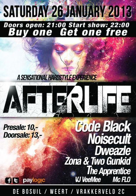 Afterlife - met o.a. Code Black