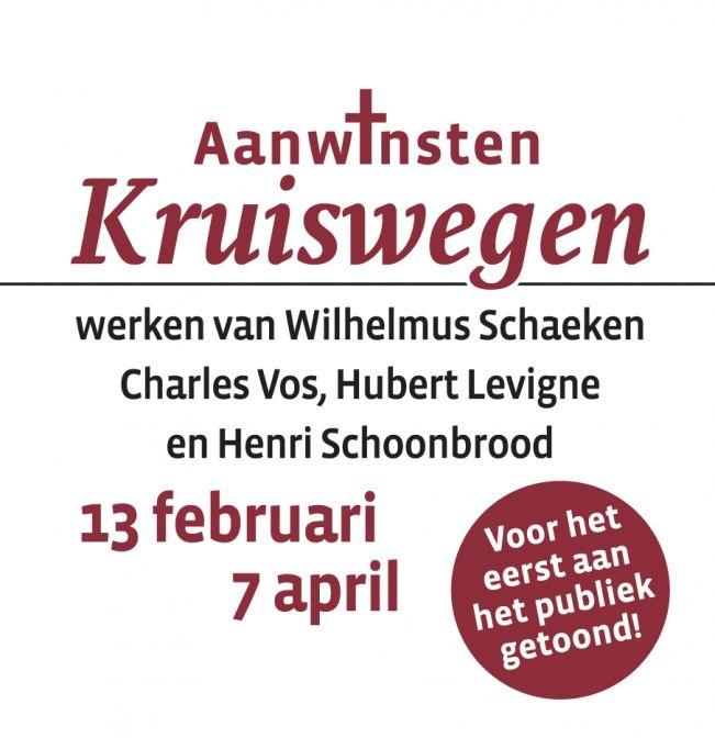 """Expositie ''Aanwinsten Kruiswegen"""""""