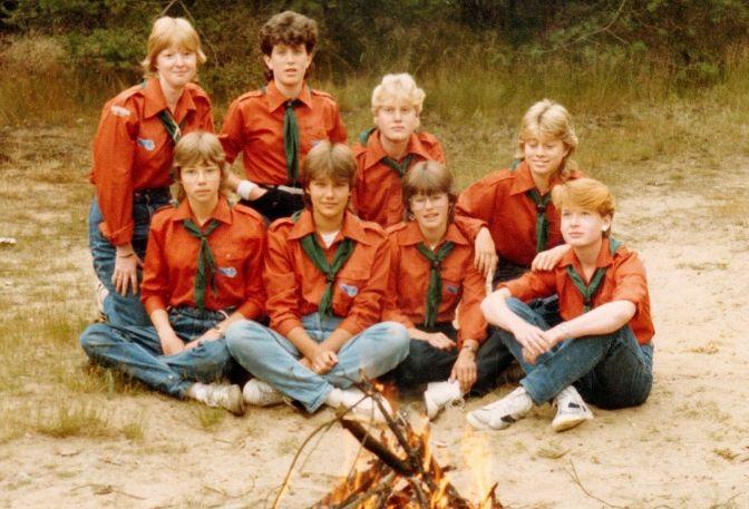 Reünie en dorpsfeest Scouting Tungelroy