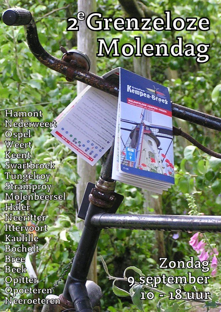 Grenzeloze Molendag in GrensPark KempenBroek