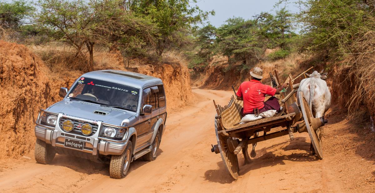 17.500 km van Myanmar naar Stramproy