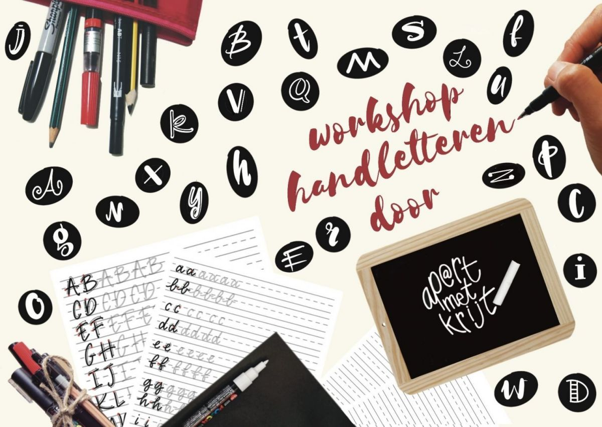 Gratis Workshop Handletteren