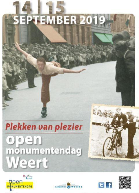 Open Monumentendag 2019: Plekken van Plezier.