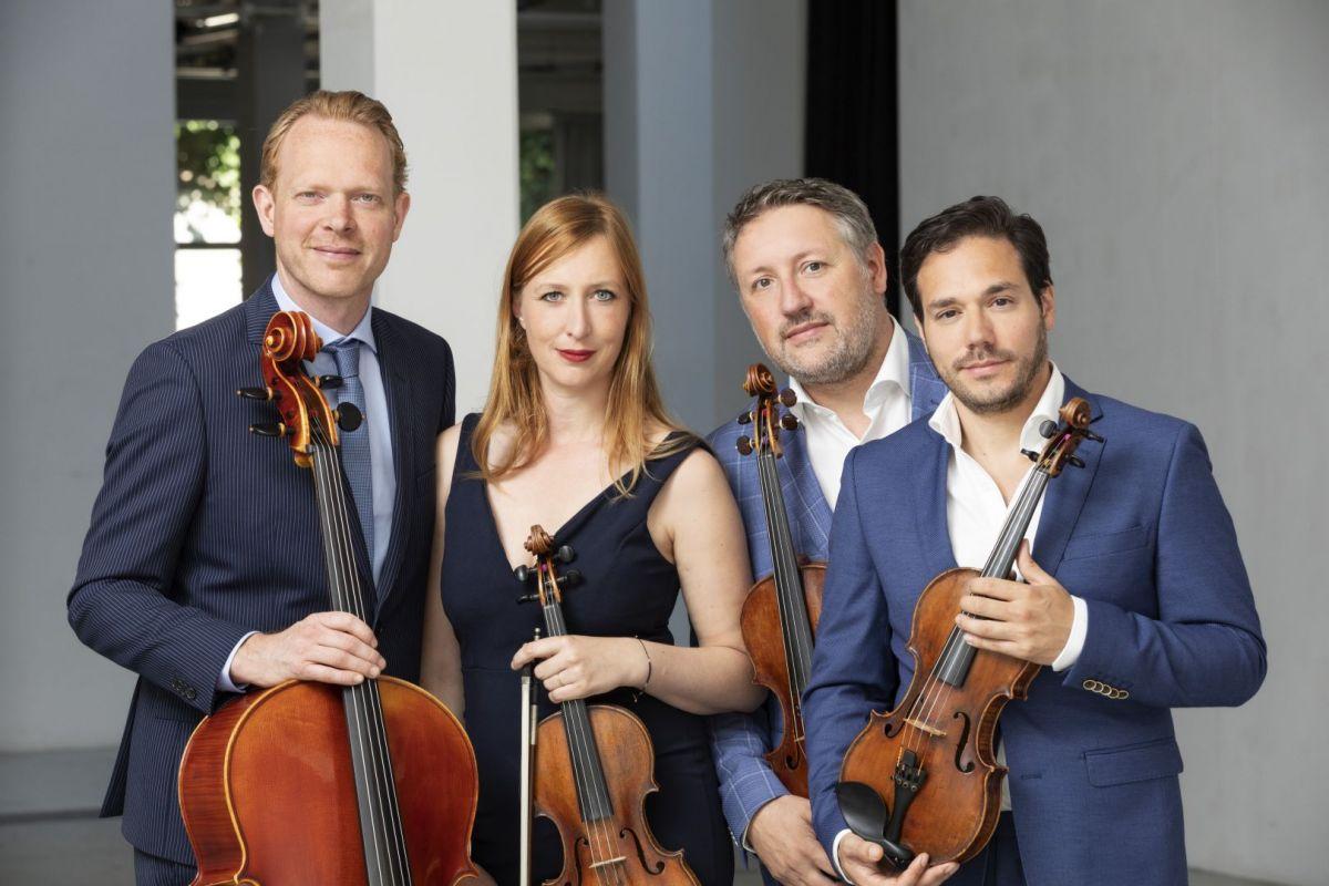 Matangi Quartet Canto Ostinato Strings Attached