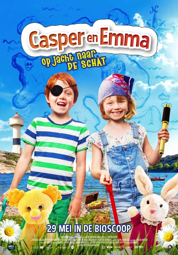 Kleuterbios: Casper & Emma op Jacht naar de Schat