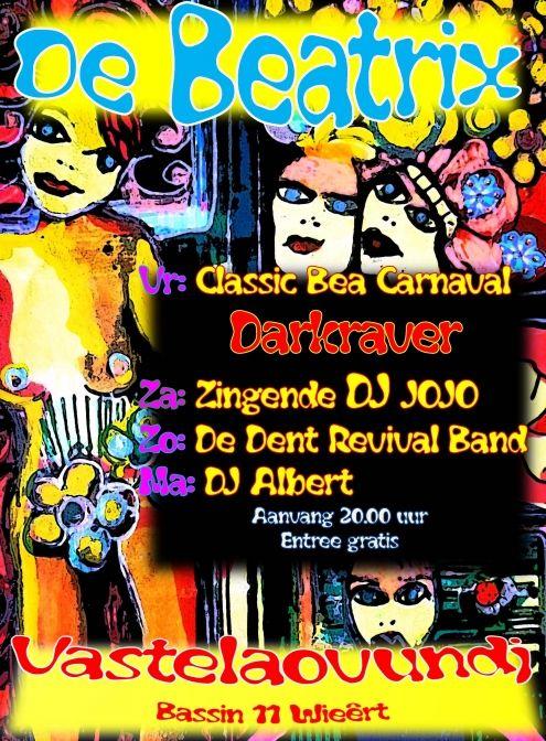 carnaval bij de beatrix