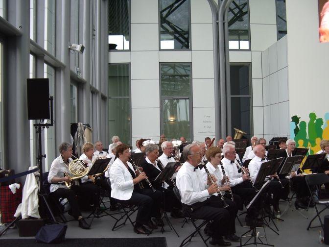 concert op de Floriaden op 11 mei 2012
