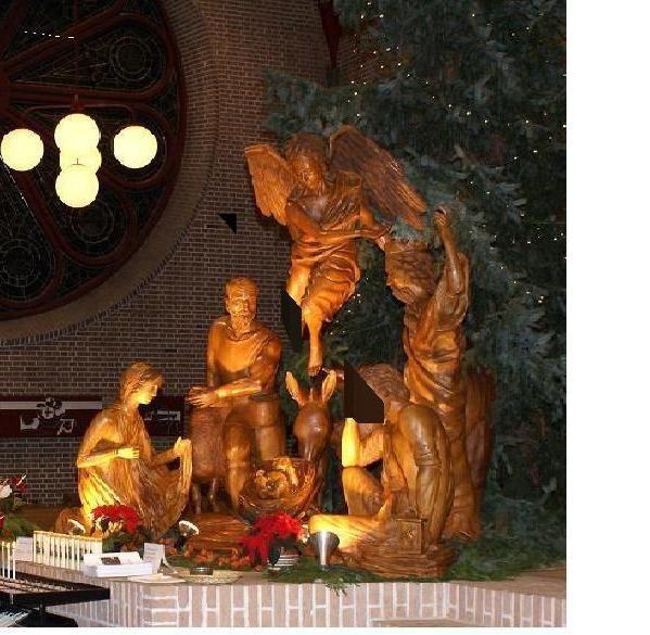Expositie kerstgroepen