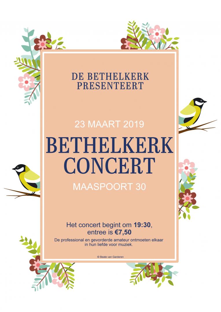 Voorjaarsconcert Bethelkerk