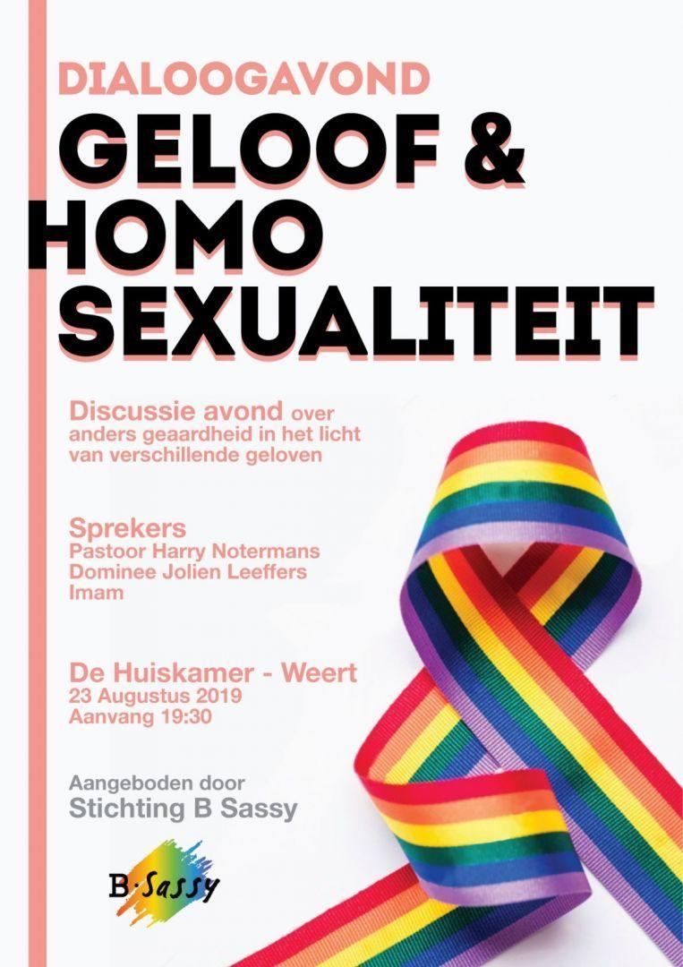 Dialoogavond Geloof-Homoseksualiteit