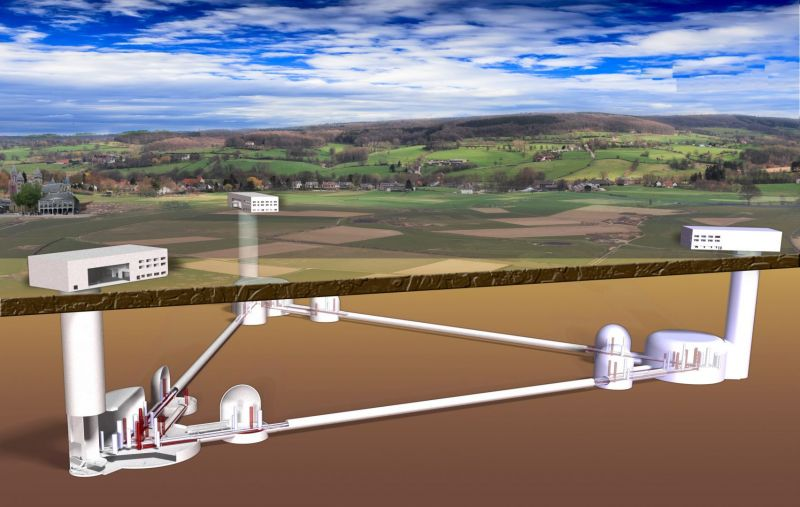De Einstein Telescoop: zwaartekrachtgolven en zwarte gaten meten in Limburg