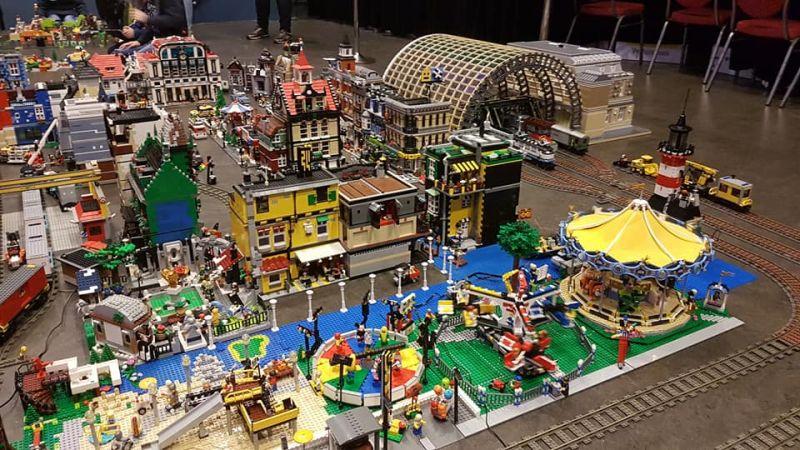Lego tentoonstelling Bricktopia