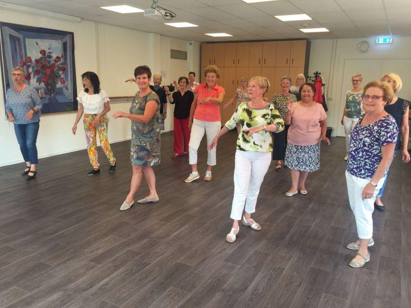 Samen in beweging met Line dance voor beginners