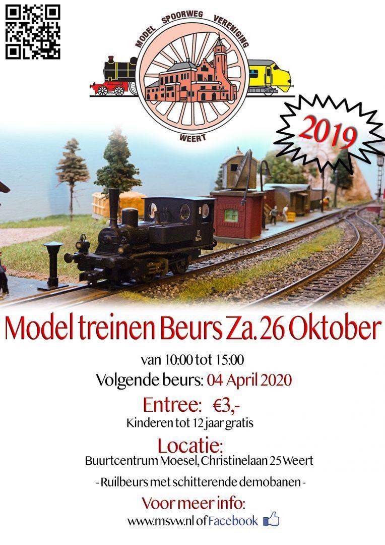 Model Treinen Beurs
