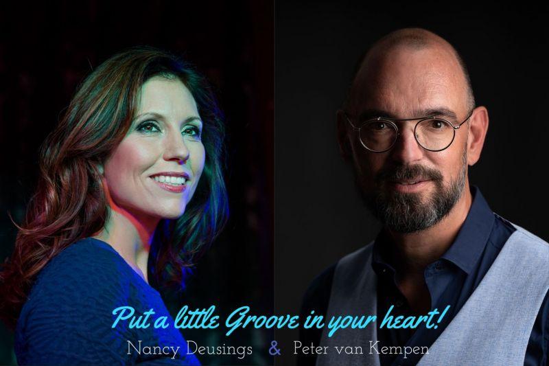 Nancy Deusings en Peter van Kempen Put a little groove in your heart!