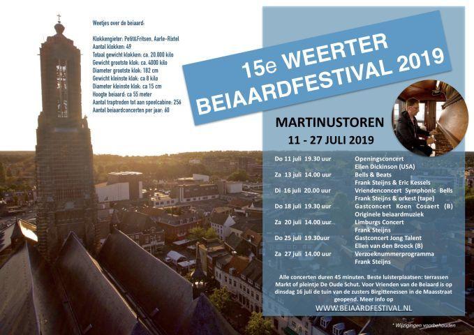 Internationaal Beiaardfestival Limburgs concert Frank Steijns