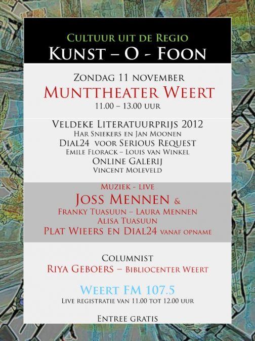 Kunst - O - Foon van WeertFM