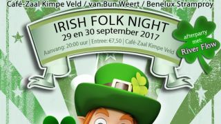 Irish Folk Night op 29 en 30 september in Tungelroy