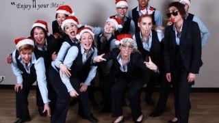 kerstborrel, kerstfeest, personeel