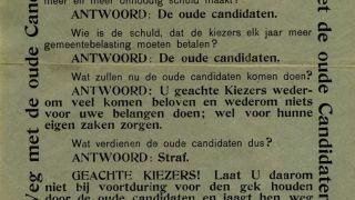 Expositie 'Weg met de oude Candidaten'