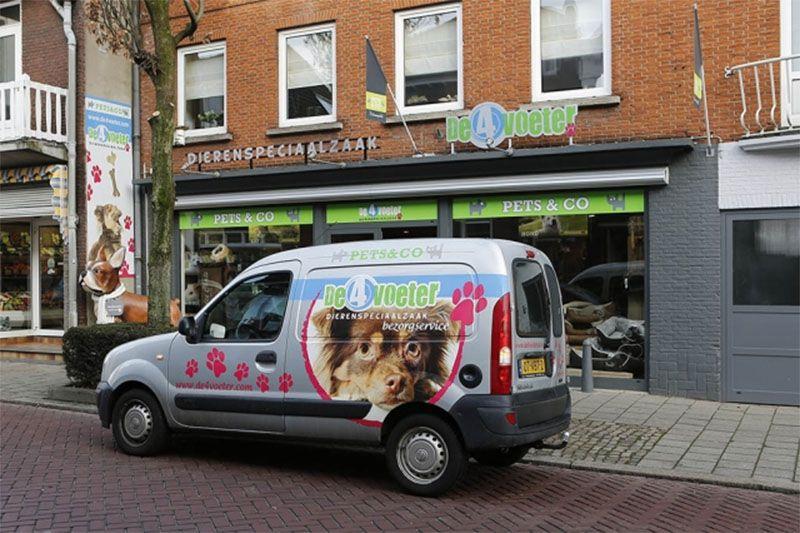 Dierenspeciaalzaak Pets & Co De 4Voeter