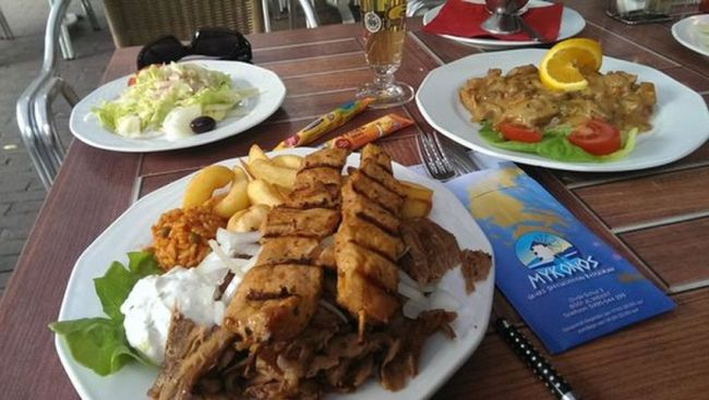 Mykonos Grieks restaurant