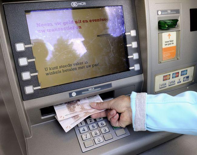 Pinautomaat ING